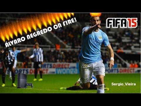 Álvaro Negredo on Fire! - FIFA 15 PS4