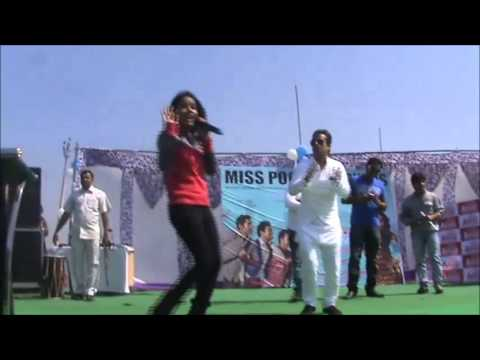 Miss Pooja At Aryans Group Of Colleges video