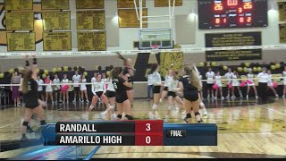 #1 Ranked Randall Stays Undefeated in District With Win Over Amarillo High