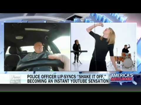 Taylor Swift lip syncing cop reacts to becoming a viral hit