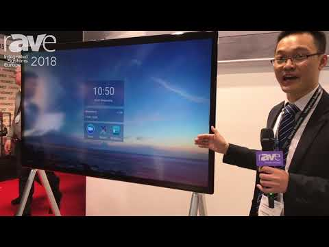 ISE 2018: General Touch Adds Interactive Whiteboard Solution for Ed, Conferencing Applications