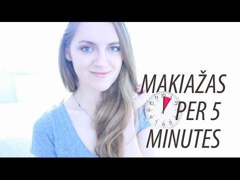 Iššūkis: makiažas per 5 minutes! | Eurokos apžvalga