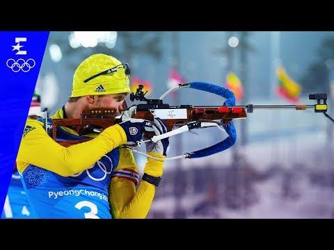 Biathlon | Men's 4x7.5km Relay Highlights | Pyeongchang 2018 | Eurosport