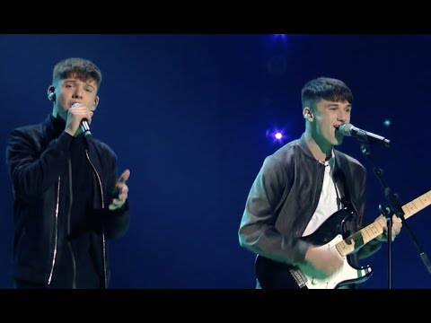 Will Irish Brothers Make Simon Proud With Strong | Live Show | The X Factor UK 2017