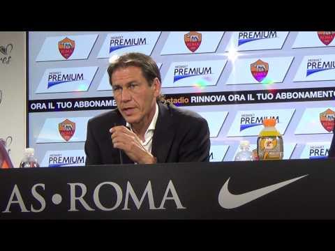 Rudi Garcia conferenza stampa pre Roma - Fiorentina, 29 agosto