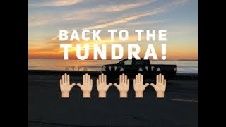 Back In The Platinum Pro Toyota Tundra!