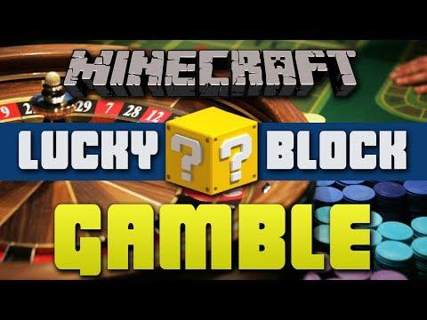 Minecraft LUCKY BLOCK GAMBLE #1 with Vikkstar, JeromeASF, TBNRFrags & CraftBattleDuty