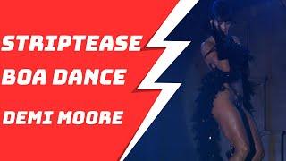 Demi Moore Sexy Boa Striptease Dance 1080P HD