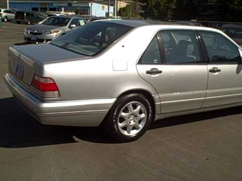 1997 Mercedes Benz S Class S320 Lwb Ron Tonkin Pre Owned