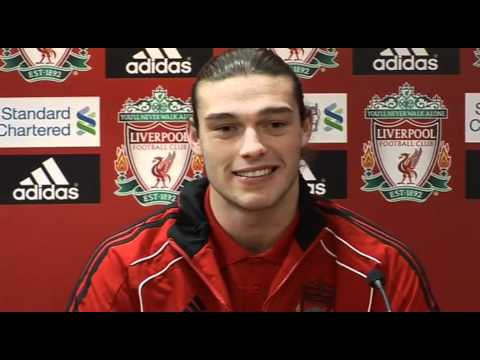 Andy Carroll on Liverpool