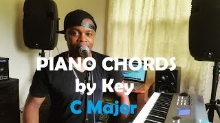 Chords By Key - Piano Chords In The Key Of C Major