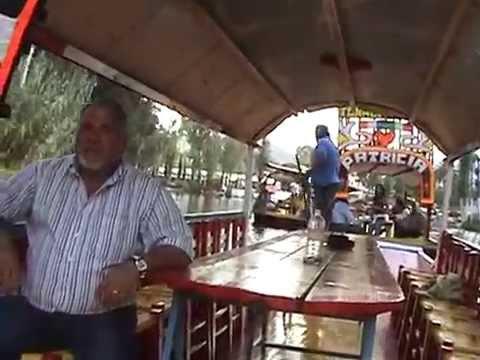 2009 11 25 Mexico   Xochimilco 2009 Video