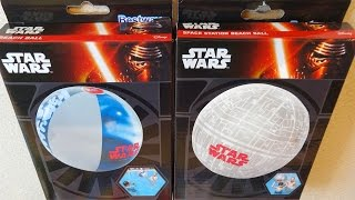 Star Wars Beach Balls The Death Star Space Station & ... Bolas de playa