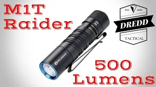 Olight M1T Raider - Unboxing & Review
