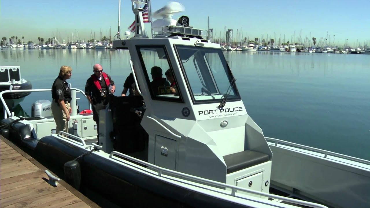 Maritime law enforcement training center los angeles for La port police