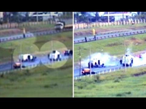 Imagens mostram ação de quadrilha de roubo a carros fortes de São Paulo