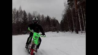 Зимний мотоцикл(snowbike rus production)