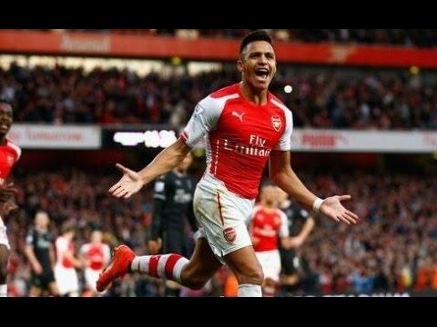 Arsenal vs Sunderland 3 -1 All Goals - Highlight  5/12/2015