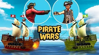 Fortnite Pirate Wars - CUSTOM PIRATE MINIGAME! (Fortnite Minigames)
