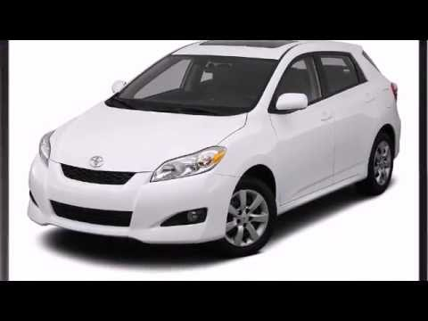 2012 Toyota Matrix Video