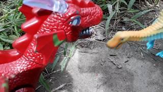 Đồ chơi trẻ em  - Khủng long bay trấn công cá sấu chết tại chổ