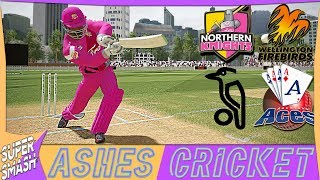 Ashes Cricket Career Mode #70 (NZ Super Smash) New Sponsorship & New Look (4K XB1 X)