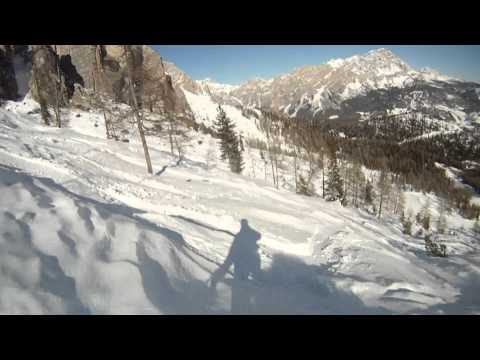 GoPro Skiing the Dolomites - Cortina d'Ampezzo