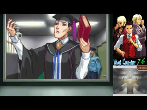 Apollo Justice [8]: Mystery Footprint