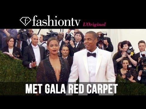 2014 Met Gala: Beyonce & Jay Z, Rihanna, Cara Delevingne, Kanye & Kim K on the Red Carpet |FashionTV
