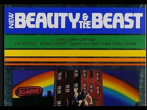 8-bit Tidbit: Beauty And The Beast (intellvision) Review | 8-bit Eric video