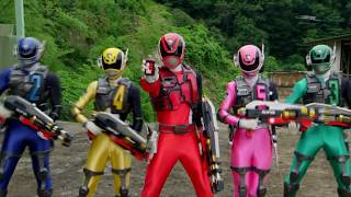 「 Gavan VS Dekaranger 」- Henshin , Rollcall & Judgement !