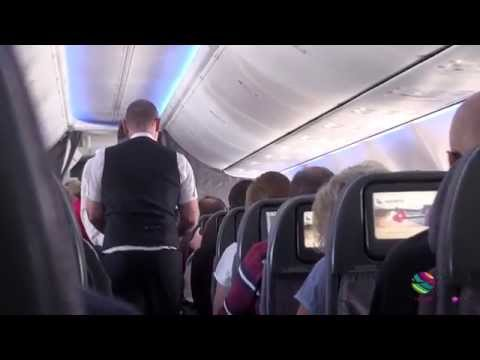 Qantas Airways seat messaging aboard Sydney to Brisbane flight