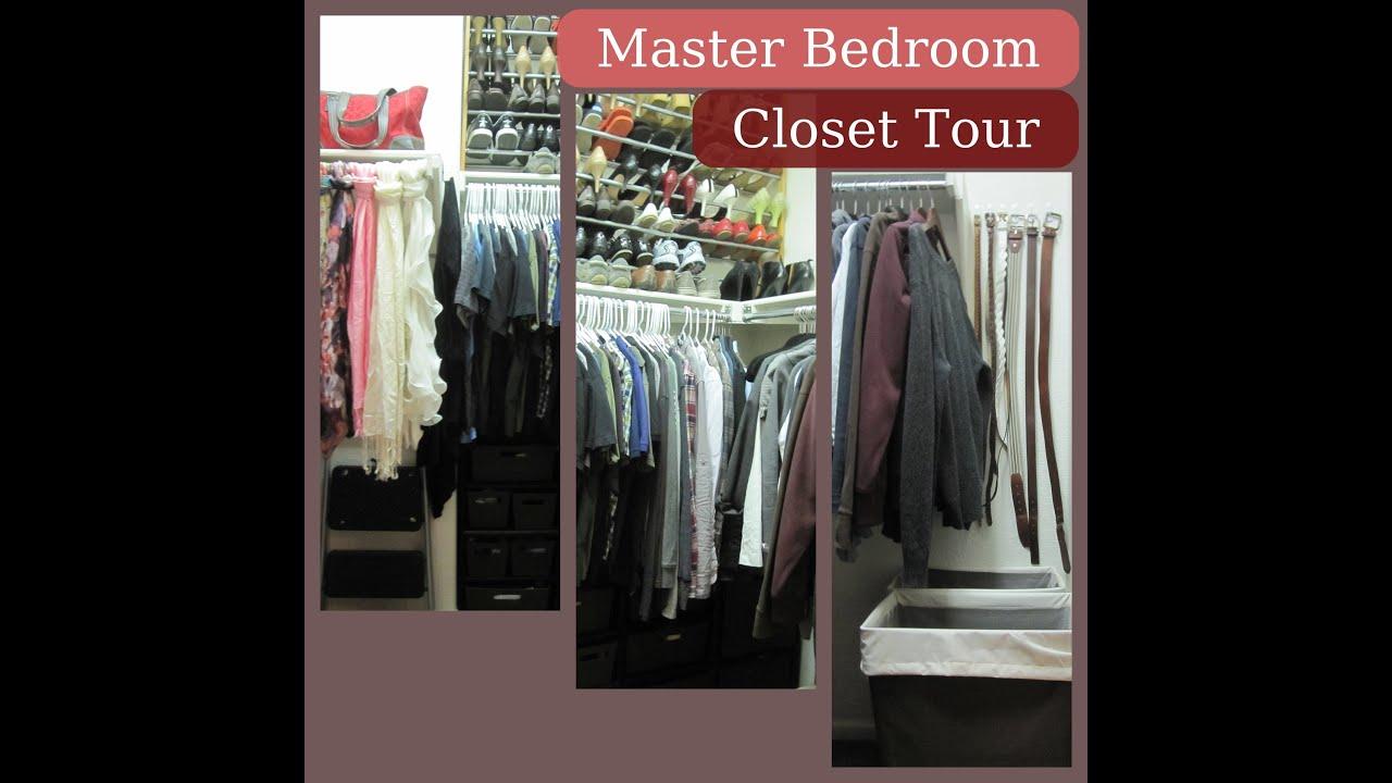 Project Organize Master Bedroom Closet Youtube