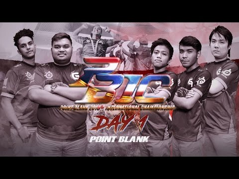 Point Blank International Championship 2016 Day 1
