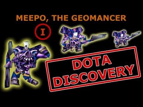 Дота. Meepo the Geomancer Guide. Мипо Геомансер гайд часть 1. Dota Discovery