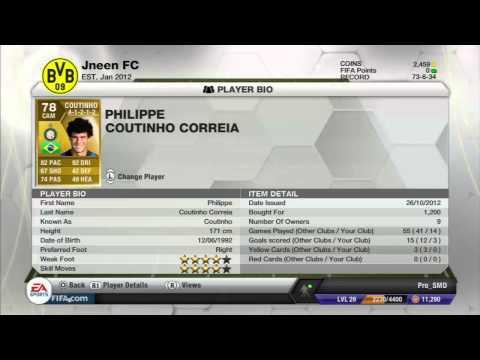 Fifa 13 Ultimate team   الفريق البرازيلي