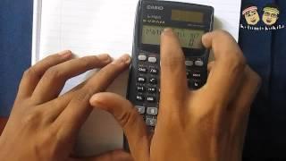 Calculating the Inverse of a Matrix Using a Calculator [Casio FX991MS]