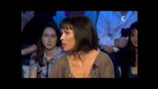 Mathilda May et Pascal Légitimus - On n'est pas couché 21 novembre 2009 #ONPC