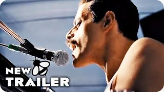 Bohemian Rhapsody Trailer 2 Teaser (2018) Rami Malek Queen Movie