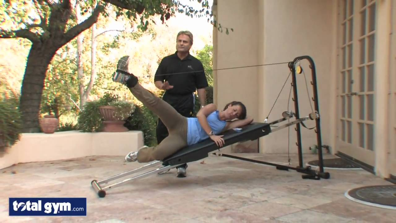 Total gym exercises for legs images for Gimnasio total