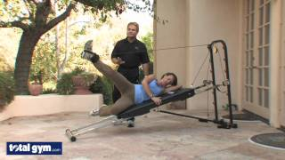 Total Gym Exercises - Hip and Glute Workout - Leg Pulley Sequence