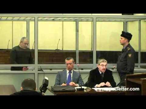 Mikhail Khodorkovsky in Supreme Court of Russia