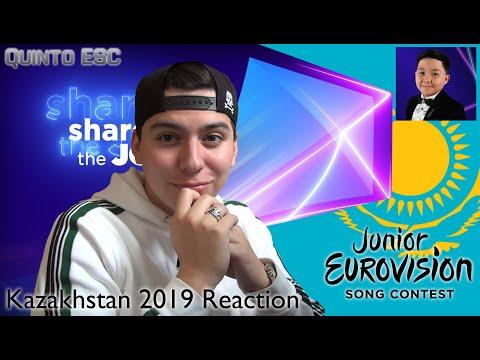 Yerzhan Maxim - Armanyńnan Qalma Reaction - Junior Eurovision 2019 (Kazakhstan) - Quinto ESC
