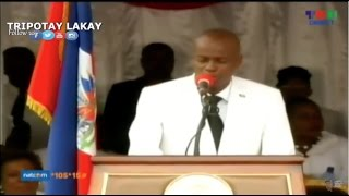 VIDEO: Haiti - President Jovenel Moise Speech - Archaie 18 Mai 2017