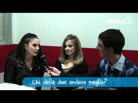 Paola e Chiara intervistate da Skuola.net