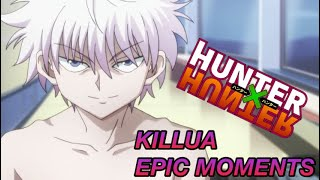 Epic killua zoldyck moments