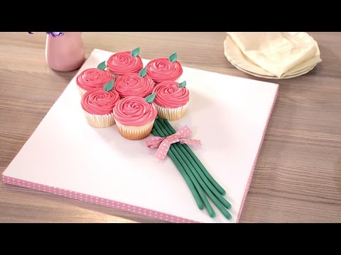 Rose Bouquet Cupcakes for Mother's Day - Betty Crocker™