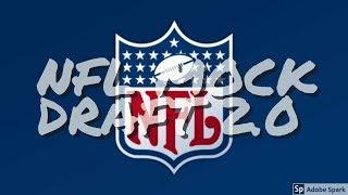 MOCK DRAFT 2.0| NFL 2018 MOCK DRAFT| DERWIN JAMES FALLS TO 20?!?!