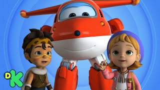 Super Wings viajam no tempo! | Super Wings | Discovery Kids Brasil