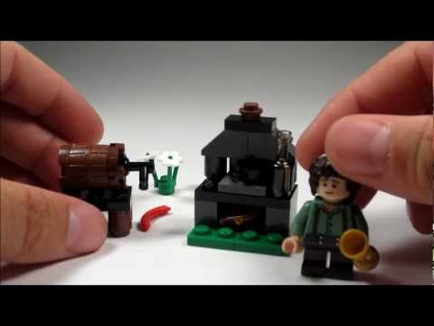 Lego Lord of the Rings Frodo with Cooking Corner Review – LOTR Set 30210